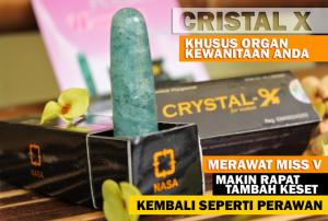 jual crystal x di bekasi